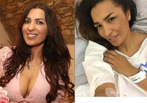 Anife Hassan Vyskočilová je už měsíc v nemocnici a čeká na další operaci.