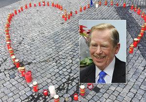 18. prosince 2018 lidé také v Praze opět uctí památku Václava Havla.