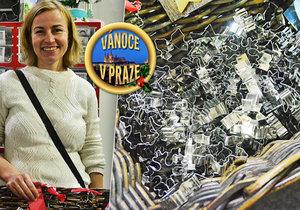 Paní Věra prodává formičky a vykrajovátka v Česku i za hranicemi.