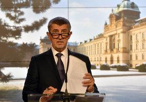 Andrej Babiš věří, že se mu díky programovému prohlášení vlády podaří nalézt podporu či toleranci pro vládu.