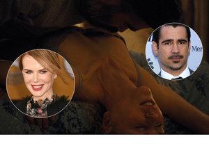 Nicole Kidman a Colin Farrell předvedli postelovou scénu.
