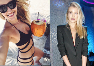 Modelka Jitka Nováčková: Místo Vánoc dovolená? Z pláže dráždí sexy plavkami!