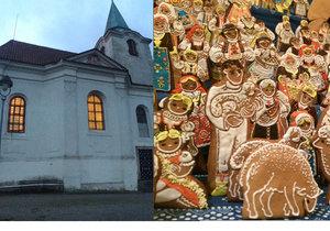 Ježíšek, Josef i panna Marie z perníku. V kostele sv. Matěje opět vystaví unikátní betlém