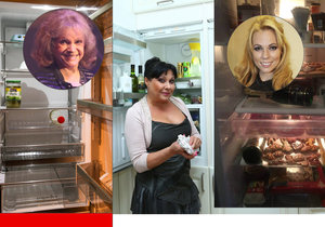 Co ukrývají chladničky slavných? Alkohol u Noskové, prázdno u Pilarové!