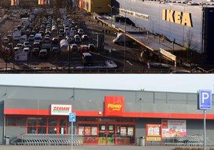 Řetězec nábytku IKEA a diskont Penny Market na Štědrý den své prodejny neotevřou.
