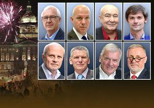 I prezidentští kandidáti mají své novoroční projevy. Blesk.cz vám je přináší všechny pohromadě.