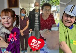 Projekt Blesku Srdce pro vás pomáhá zviditelňovat ty, kteří pomáhají.