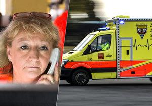 Hana Kónyová pracuje v dispečinku záchranné služby 30 let.