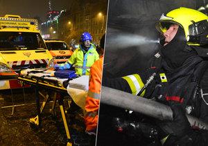Svátky a konec roku jsou pro hasiče a záchranáře nejvytíženějším obdobím v roce.
