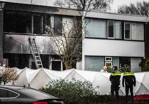 Při požáru v nizozemském Emmenu uhořely dvě děti. Rodina podle sousedů pocházela z Česka.