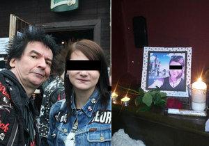 Písničky, lampiony i jamování: Kamarádi se rozloučili s Olgou, rodina ji pohřbila v Irkutsku.