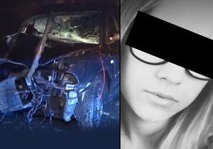 Při tragické dopravní nehodě přišla o život teprve 17letá Majka.
