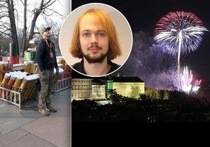Autor pražského novoročního ohňostroje Martin Peter doufá, že z české metropole se stane vyhledávané centrum umělecké pyrotechniky.