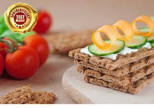 Křehké dietní chlebíčky se lehce můžou stát nezdravým, připáleným plátkem.