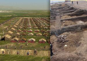 Archeologové našli v Brně pozůstatky po římském tábořišti z 2. století našeho letopočtu. Vojáků tam bylo několik tisíc.