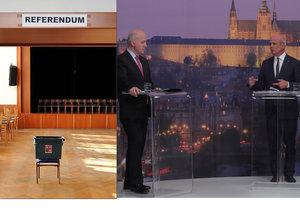Prezidentští kandidáti Horáček a Fischer se neshodli v otázce referenda