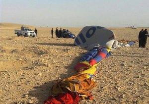 Horkovzdušný balon na Přerovsku vletěl do elektrických drátů: V koši bylo 8 lidí