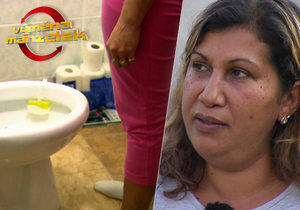 Výměna manželek: Použitý toaleťák skladují v kuchyni!