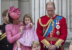Charlotte překvapila i své královské rodiče