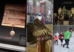 20 tipů na víkend: Zlatá bula na Hradě, výšlap Sněžky i Blaníku nebo Zimní bitva