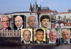 Prezidentští kandidáti odpovídali na nejpalčivější otázky současnosti. Chybí mezi nimi jen Miloš Zeman