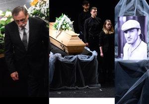 Poslední rozloučení s Jakubem Zedníčkem v Městském divadle Brno