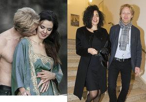 Karel Janeček na veřejnosti zapřel svou druhou manželku, se kterou čeká dítě.