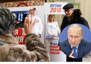 Hlavní kandidát voleb – Vladimir Putin