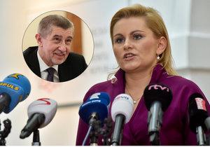 Poslankyně ANO Taťána Malá: Žádné obstrukce kvůli Babišovi neděláme.