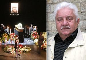 Pohřeb Mariána Labudy (†73): Takhle to nechtěl! Nesplnili mu poslední přání