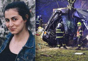 V autobuse smrti seděla také herečka Julie Ondračková.