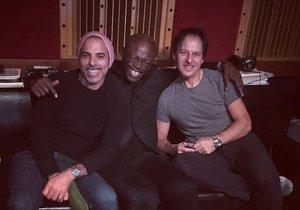 Pavol Habera se zpěvákem Sealem a producentem Carmenem Rizzou