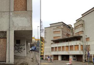 Palác Svět v Libni chátrá dlouhé roky, rekonstrukce je stále v nedohlednu.