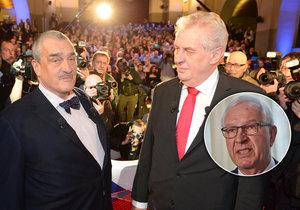 Karel Schwarzenberg má před 2. kolem volby vzkaz pro Jiřího Drahoše.