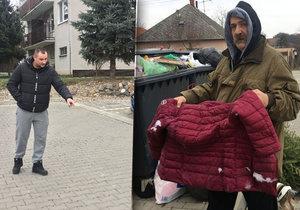 Děda Ján a soused Michal Vanesku zachránili.