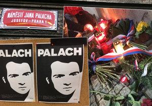 16. ledna se vzpomínalo na Jana Palacha.