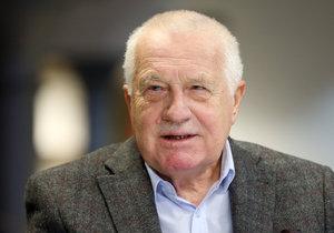 Václav Klaus ve studiu Blesk: Drahoš nemá na Hrad nárok