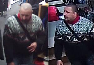 V Radotíně kradl zloděj dvakrát na stejném místě: Policie po něm pátrá, poznáte ho?
