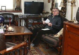 Obývací pokoj Vlastimila Harapese