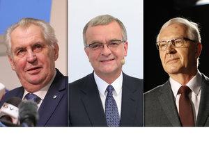 Jiří Drahoš má podle konspirátorů mocenský pakt s Miroslavem Kalouskem. Zemanovým střetem s aktivistkou se pro změnu krutě baví jeho kritik.