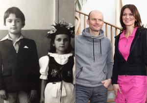 Sourozenci Gondíkovi ukázali fotky z dětství! Proč se šest let nevídali?