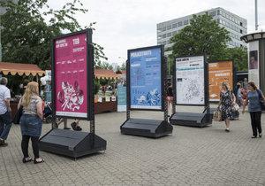 Výstava Palmovka TEĎ představí lidem plánované změny v lokalitě.