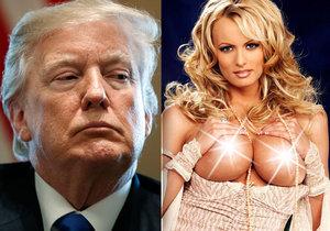 Pornoherečka Stormy Daniels tvrdila, že měla sex s prezidentem USA Donaldem Trumpem, který byl prý v posteli velmi průměrný.