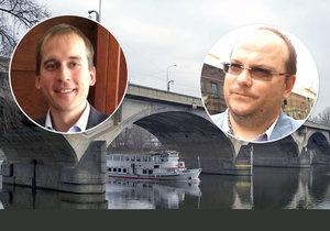 Podle starostů Prahy 7 a Prahy 8 mohl být Libeňský most už dávno opraven.