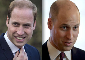 Princ William si ostříhal vlasy na hodně krátko.