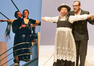 Zapomeňte na DiCapria s Kate Winslet! Titanic teď ovládli Mirek Vladyka a Filip Blažek.