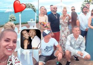Dara a Rytmus jsou na Bali na tajné svatbě.