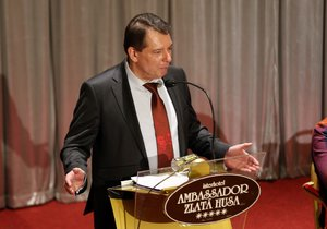 Bývalý předseda ČSSD Jiří Paroubek na konferenci k budoucnosti strany