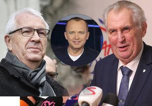 Moderátorem prezidentské debaty bude Karel Voříšek! Ještě fouknu do ohně, slibuje.