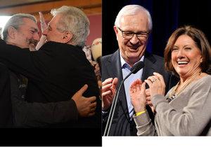 Prezidentští kandidáti sbírají podporu také u známých osobnosti. Jiřího Drahoše podporuje zpěvačka Marie Rottrová, Miloše Zemana vyznamenaný Daniel Hůlka.
